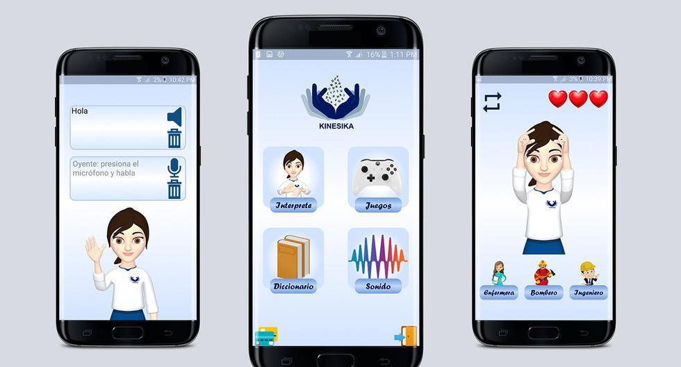 La aplicación puede descargarse gratuitamente en teléfonos que usan el sistema Android (Foto: Kinesica)