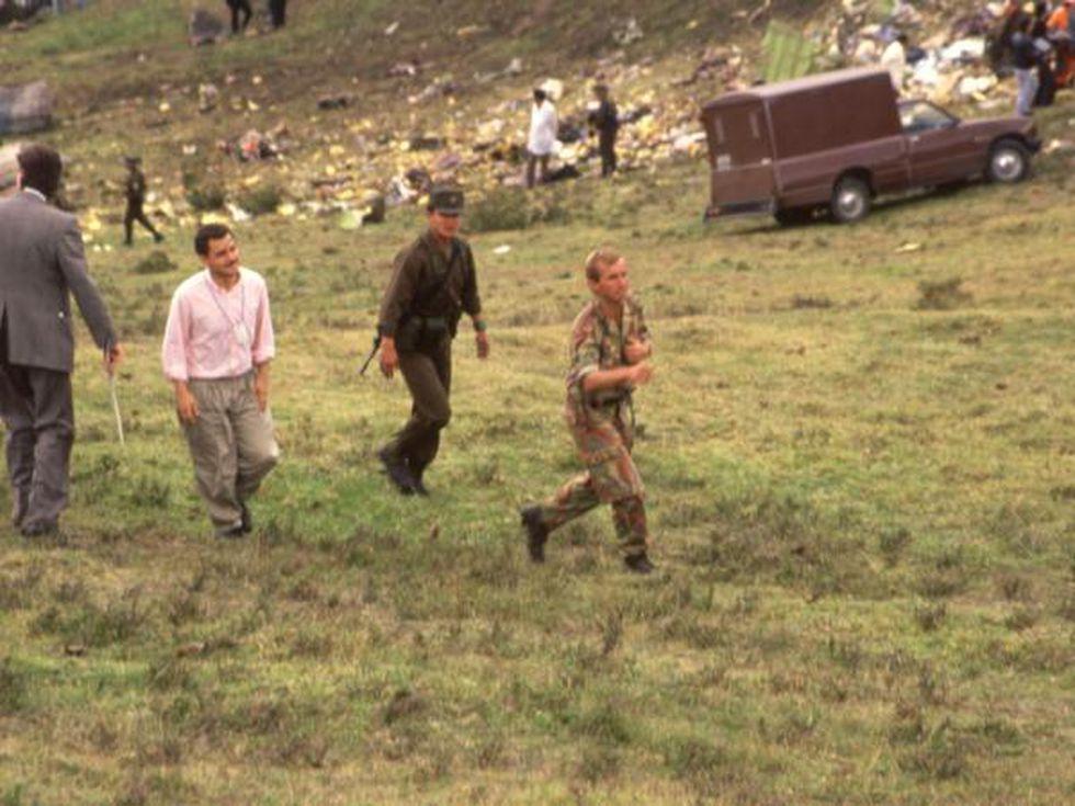 Sicarios de Pablo Escobar que aún están vivos tienen la verdad sobre este atentado, pero se han negado a hablar. (Foto: Archivo / EL TIEMPO).