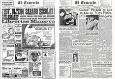 Las portadas de El Comercio