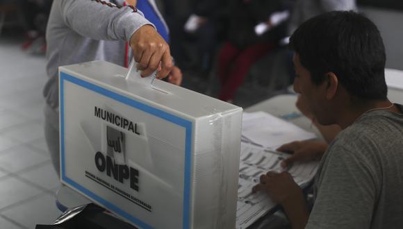 """""""Este domingo, los peruanos elegiremos la próximo fórmula presidencial, 130 congresistas y 5 representantes ante el Parlamento Andino"""". (Foto: César Campos/GEC)"""