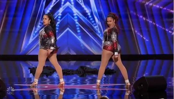 """""""America's Got Talent"""": Gemelas peruanas destacan con su talento y pasan a fase de audiciones en vivo (Foto: captura de video)"""