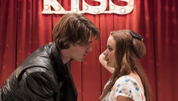 """Joey King y Jacob Elordi iniciaron su romance tras grabar la primera parte de """"El stand de los besos"""". Sin embargo, rompieron a finales de 2018 (Foto: Netflix)"""