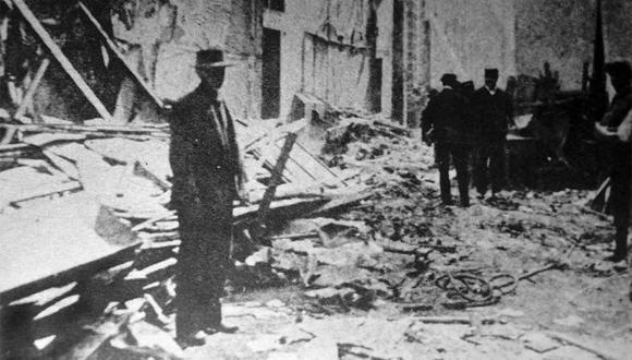El callejón Otaiza fue uno de los focos infecciosos de la peste bubónica en Lima. Las autoridades demolieron la zona y la convirtieron en pasaje.