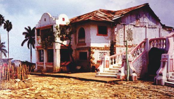 El hotel Sabaneta fue convertido en 1944 en el campo de concentración de Fusagasugá.