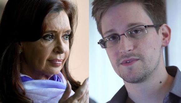 Cristina Fernández se reunió con Edward Snowden en Rusia