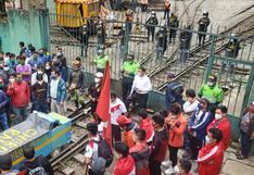 Cusco: turistas quedaron varados por protestas contra servicio ferroviario a Machu Picchu