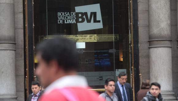 El índice S&P/BVL Perú General subía un 0.84%. (Foto: GEC)