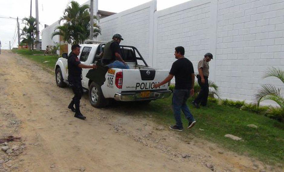Encuentran dos granadas de guerra en vivienda de San Martín