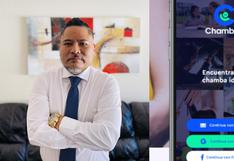 Migró a Estados Unidos, aprendió de tecnología y desarrolló una app para conectar a los emprendedores peruanos
