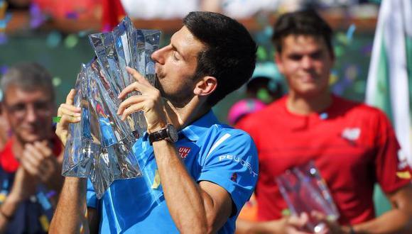 Djokovic aumenta ventaja en la ATP tras ganar Indian Wells