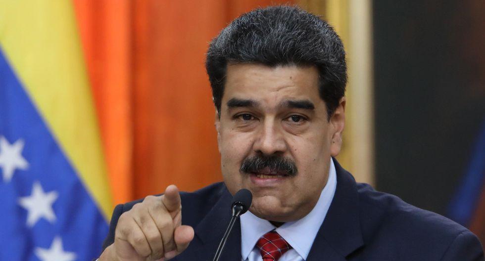 """Venezuela: Nicolás Maduro autoriza a la Fuerzas Armadas a responder """"desde todos los espacios"""" a Iván Duque. (EFE)."""
