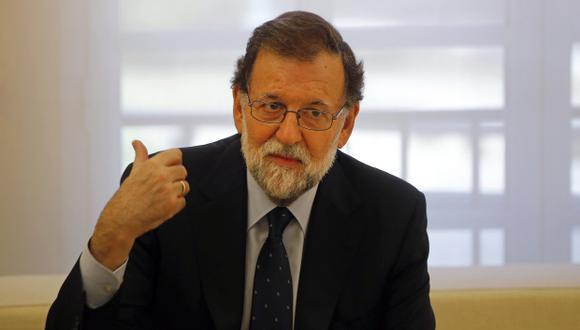 Mariano Rajoy, jefe de Gobierno de España. (Foto: AP)
