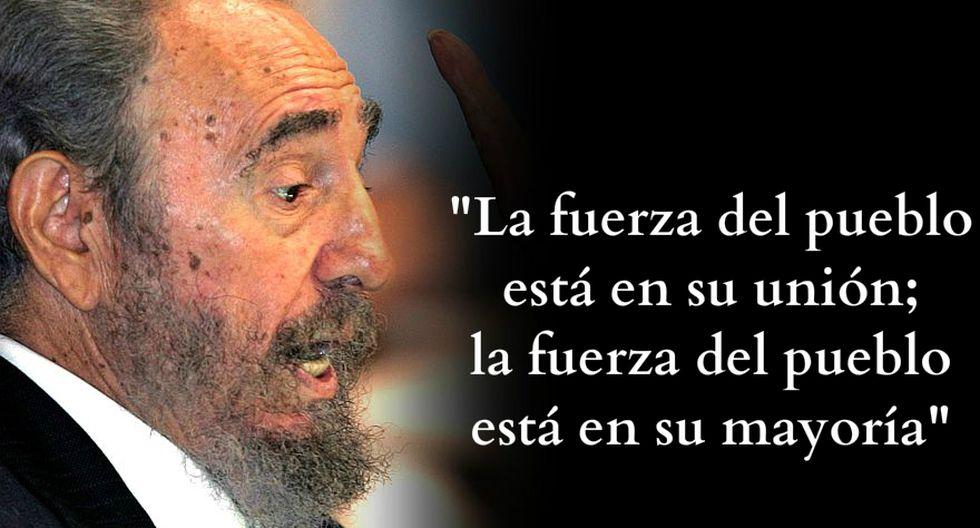 Las frases de Fidel Castro que el mundo no olvidará [FOTOS] - 9