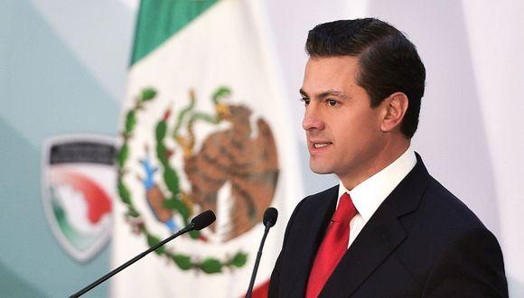Enrique Peña Nieto, presidente de México. (Foto: EFE)