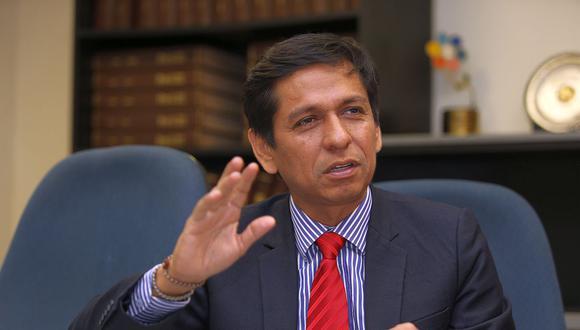 Jorge Meléndez fue implicado con la presunta organización criminal 'Los Cumaleros del Oriente', dedicada al tráfico ilegal de madera. (Foto: GEC)