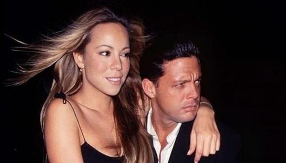 La relación de Luis Miguel y Mariah Carey parecía perfecta, pero por el choque de culturas es que acabó el amor (Foto: Twitter @Rominamara)