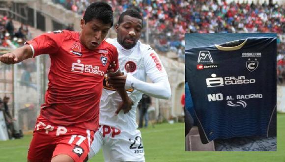 """Cienciano jugará con mensaje en camiseta: """"no al racismo"""""""