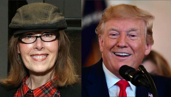 """""""Ella no es mi tipo"""", afirma Donald Trump sobre E. Jean Carroll, la mujer que lo acusó de violación. (Reuters)."""