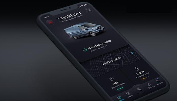 Nueva aplicación de Ford. (Foto: Difusión)