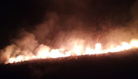 Áncash: COER reporta 40 incendios forestales durante el 2020 y cifra duplica a la del año pasado (Foto referencial)