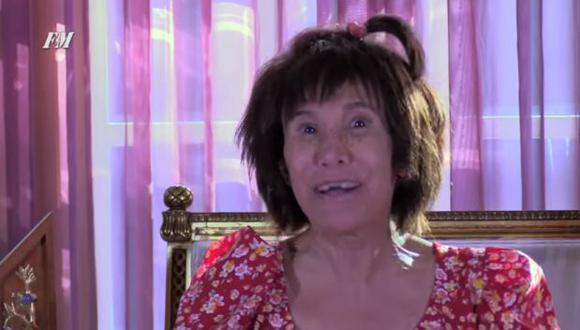 Florinda Meza como La Chimoltrufia. (Captura de pantalla)