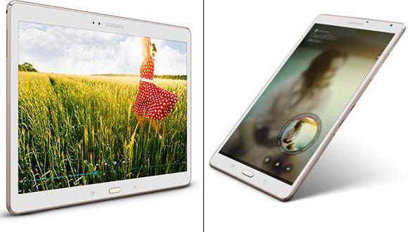 Samsung Galaxy Tab S, una tablet con más resolución que el iPad