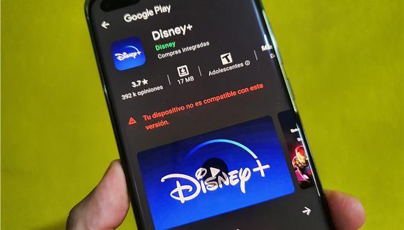 ¿Tu celular Huawei no es compatible con Disney Plus? Usa este sencillo método. (Foto: MAG)