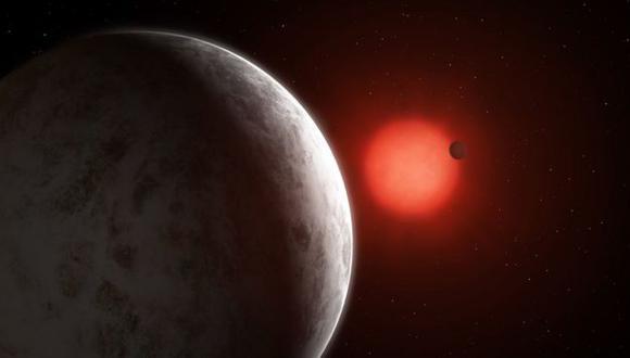 Dada la cercanía a GJ 887, los planetas recién descubiertos tienen órbitas más cortas que la de Mercurio alrededor del Sol. (MARK GARLICK/PA WIRE)