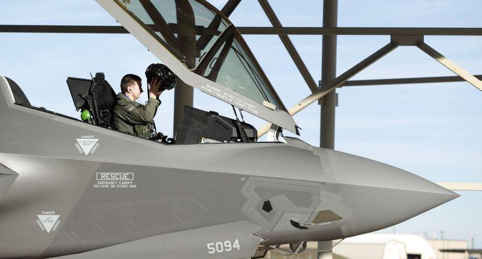 Los ultramodernos F-35 de EE.UU. que entrenan cerca de Rusia - 11
