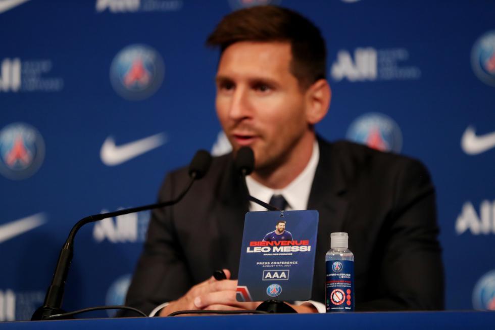 Messi fue presentado en PSG: conoce la fecha de su debut y lo que dijo sobre Neymar   FC Barcelona   Kylian Mbappé   Argentina   AR   DEPORTE-TOTAL   EL COMERCIO PERÚ