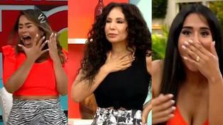 Conductoras de 'América Hoy' sufren susto en vivo por extraño personaje