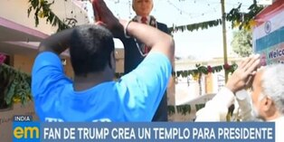 Donald Trump: Fan crea templo en honor al presidente de EE.UU