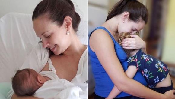 """Emilia Drago sobre cómo reaccionó su hija mayor tras conocer a su hermanita: """"Fue un pequeño drama"""" (Foto: Instagram)"""
