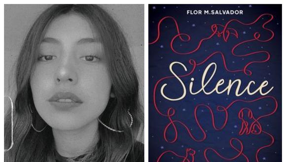 Flor M. Salvador presenta en Lima su última novela juvenil, Silence. Además es autora del exitoso libro Boulevard. (Fotos: IG Flor M. Salvador)