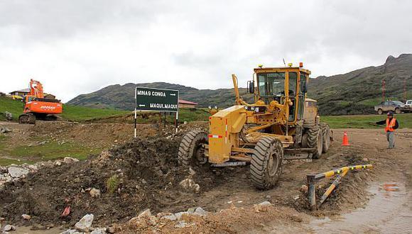 El proyecto Conga de US$4,800 millones está paralizado desde 2011. (Foto: GEC)