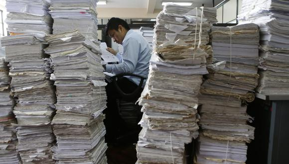 Se estima que la corte de Lima recibe por lo menos diez mil demandas al mes de las diferentes especialidades. (Foto: Alonso Chero)