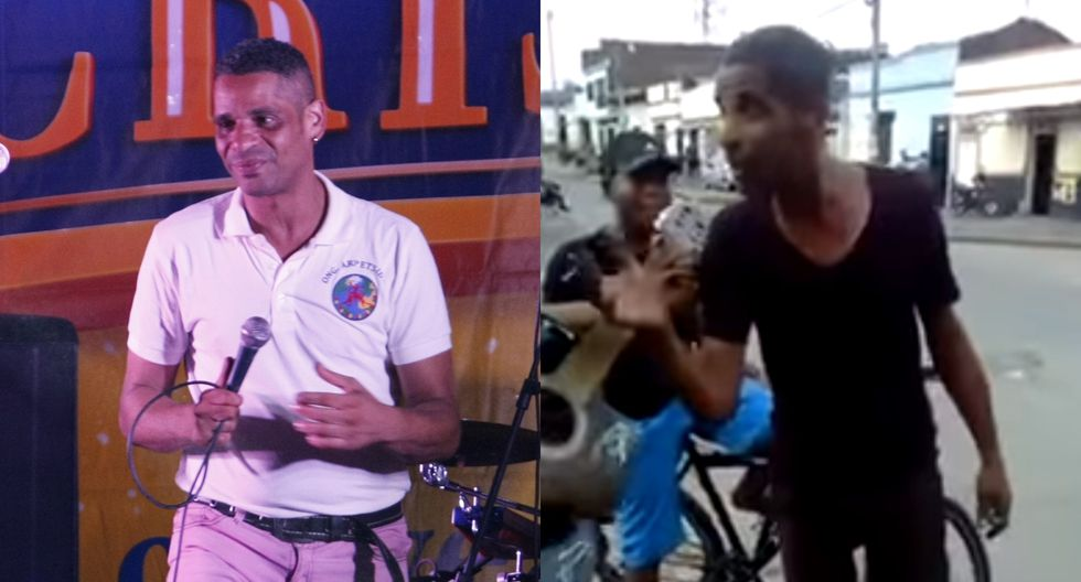 Michel Maza, ex integrante de La Charanga Habanera, aparece bajo de peso en nuevo video. Fotos: El Comercio/ YouTube.
