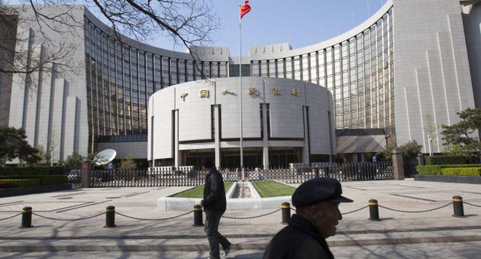 El Banco Central de Reserva China espera reducir la tasa que cobra a los bancos que necesitan liquidez a corto plazo. (Foto: Bloomberg)