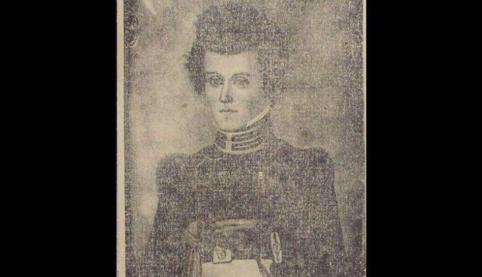 Retrato del general Morán publicado en el Diario El Deber en 1926, a raíz de la inauguración de un monumento en su honor (Foto: Captura)