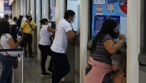 El uso de mascarilla y protector facial es obligatorio. (Foto: Eduardo Cavero/ @photo.gec)