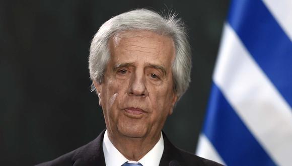 El presidente de Uruguay, Tabaré Vázquez, tiene cáncer de pulmón. (Foto: AFP)