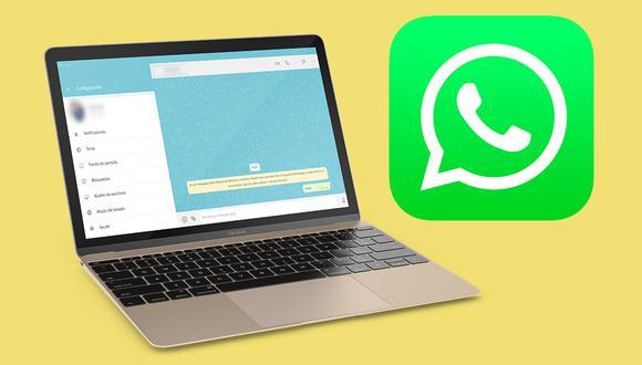 Así puedes cambiar el color de toda la plataforma de WhatsApp Web. (Foto: MAG)