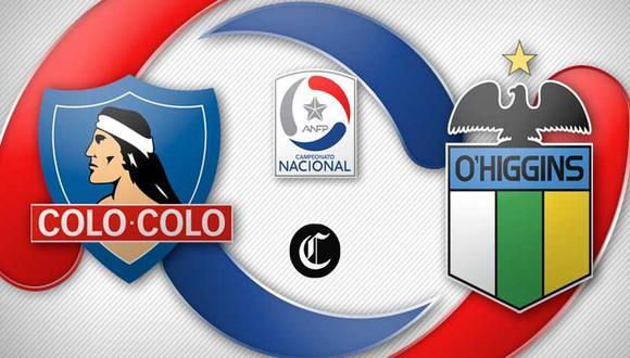 Sigue aquí la transmisión en directo del Colo Colo vs. O'Higgins desde Rancagua. Foto: El Comercio