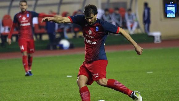 Álvaro Ampuero acabó su préstamo con Zira y es jugador libre.