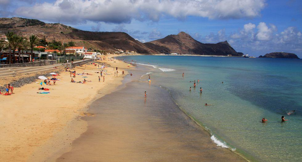 La isla de Porto Santo es perfecta para tomar sol en la playa. (Foto: UTP)