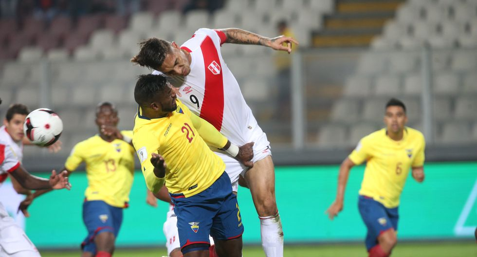 La selección peruana superó 1-0 a Ecuador en el partido de ida en estas Eliminatorias en Lima. (Foto: El Comercio).