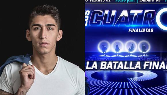 """Daniel Lazo figura entre los participantes de """"Los 4 finalistas, la batalla final"""". (Fotos: Facebook)"""