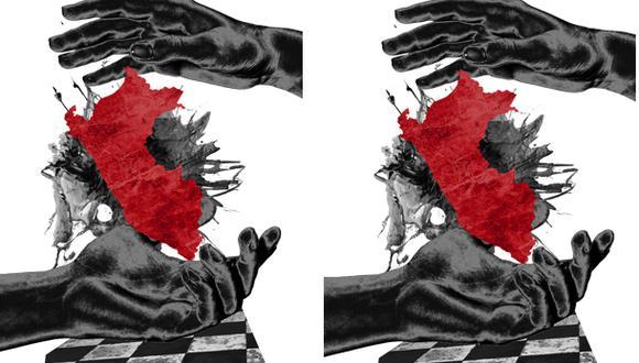 """""""La polarización favorece al discurso populista, aquel que se nutre de la división y de la sensación de crisis"""". (Ilustración: Giovanni Tazza)."""