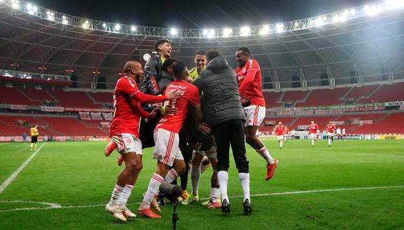 Mira la emotiva celebración del Internacional tras gol de Paolo Guerrero | Foto: @SCInternacional