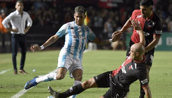 Racing Club y Colón de Santa Fe empataron 1-1 por la Superliga Argentina. Foto: Racing Club